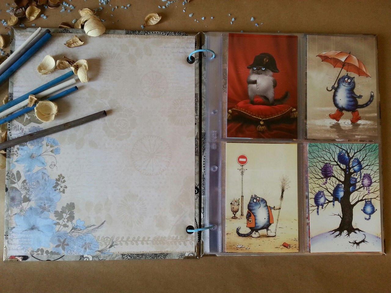 Еда картинках, как хранить коллекцию открыток